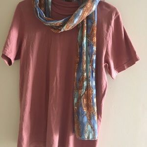 Tops - Scarf and T-shirt